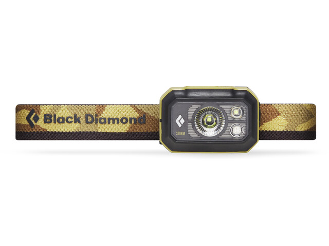 Black Diamond Storm 375 Otsalamppu, sand